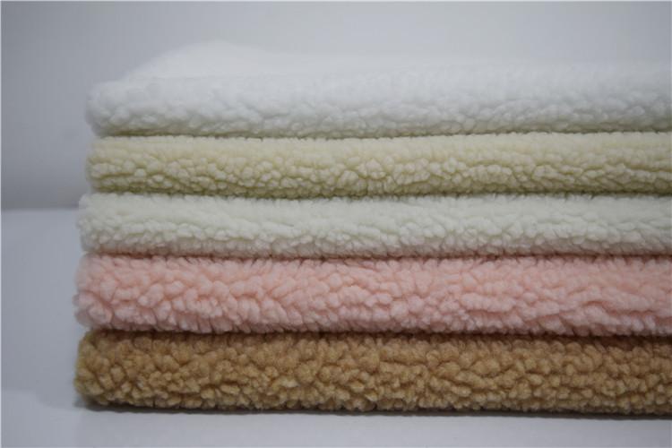 Autumn winter clothing wool blanket fabric