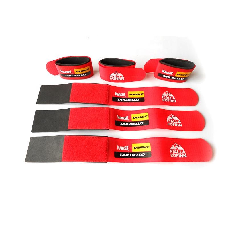 50*450mm Good Quality Wholesale custom hook loop snow ski straps