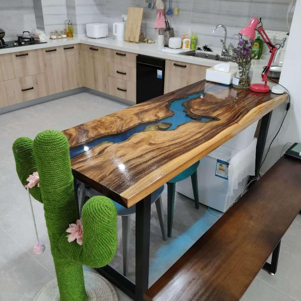 wood slab epoxy resin kitchen countertop, View countertop, Ideal Product  Details from Wuxi Ideal Furniture Co., Ltd. on Alibaba.com