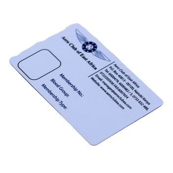 Credit Cards Size Low Frequency RFID Employee Photo ID Card