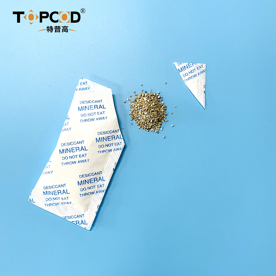 10g OEM High Absorption Moisture Proof Industrial Grade Montmorillonite Clay Desiccant