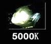 5000K