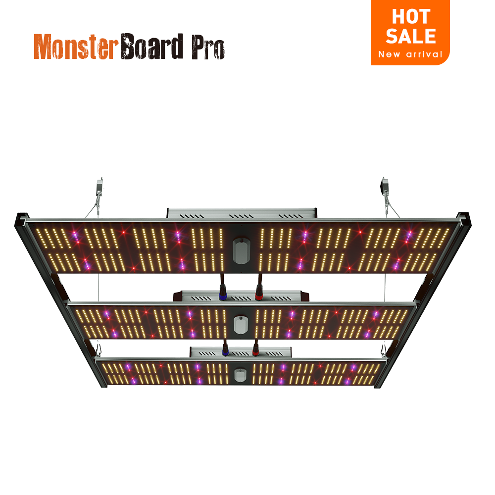 Geeklight 720w grow light led monsterboard pro 7200 veg bloom switchable lm301h led grow light for indoor farming
