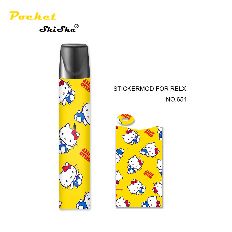 high quality electronic cigarette accessories pod system vape custom relx skin sticker - MrVaper.net