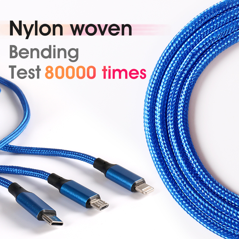 braided android usb type c to type c fast speed charging cable  quick charge for iphone wholesale manufacturer