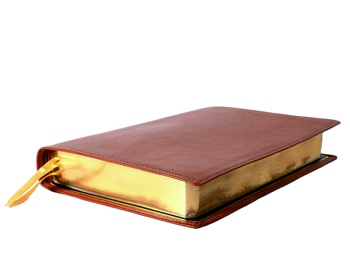 Bible /Genuine Leather Cover/ Bible Printing/ Hot Foil Stamping/ Blind Embossing/ Gold Edge Gilding