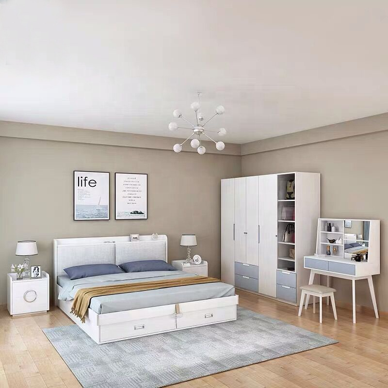 Elegant White Furniture For Bedroom Set King Size Bedroomset - Buy