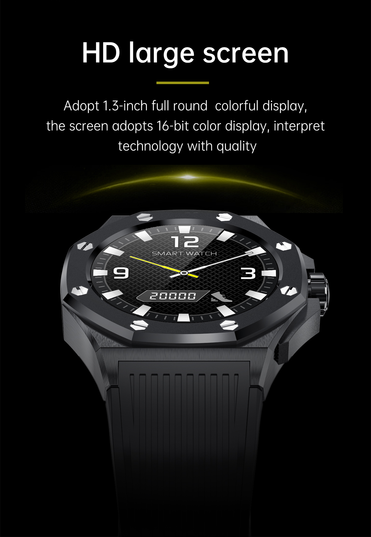 High F9 Smartwatch Latest New Model Android OS Business Sport Smart Watches for Men Wristwatches