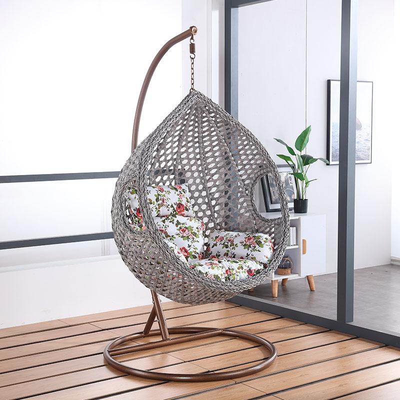 Ротанговая подвесная корзина для отдыха, подвесные Производители напрямую для птичьего гнезда, подвесная корзина, качающееся кресло в форме яйца