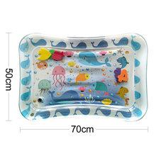 Надувной игровой коврик для детей, ПВХ, водная Подушка для детей, веселая Рыбка, игрушка для детей, 2020(Китай)