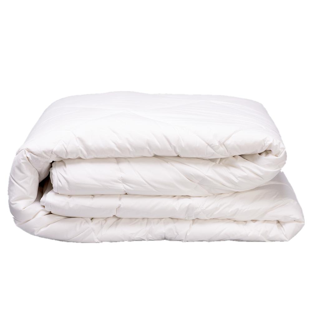washable luxury 100% New Zealand alpaca wool quilt wool underlay with cotton duvet cotton