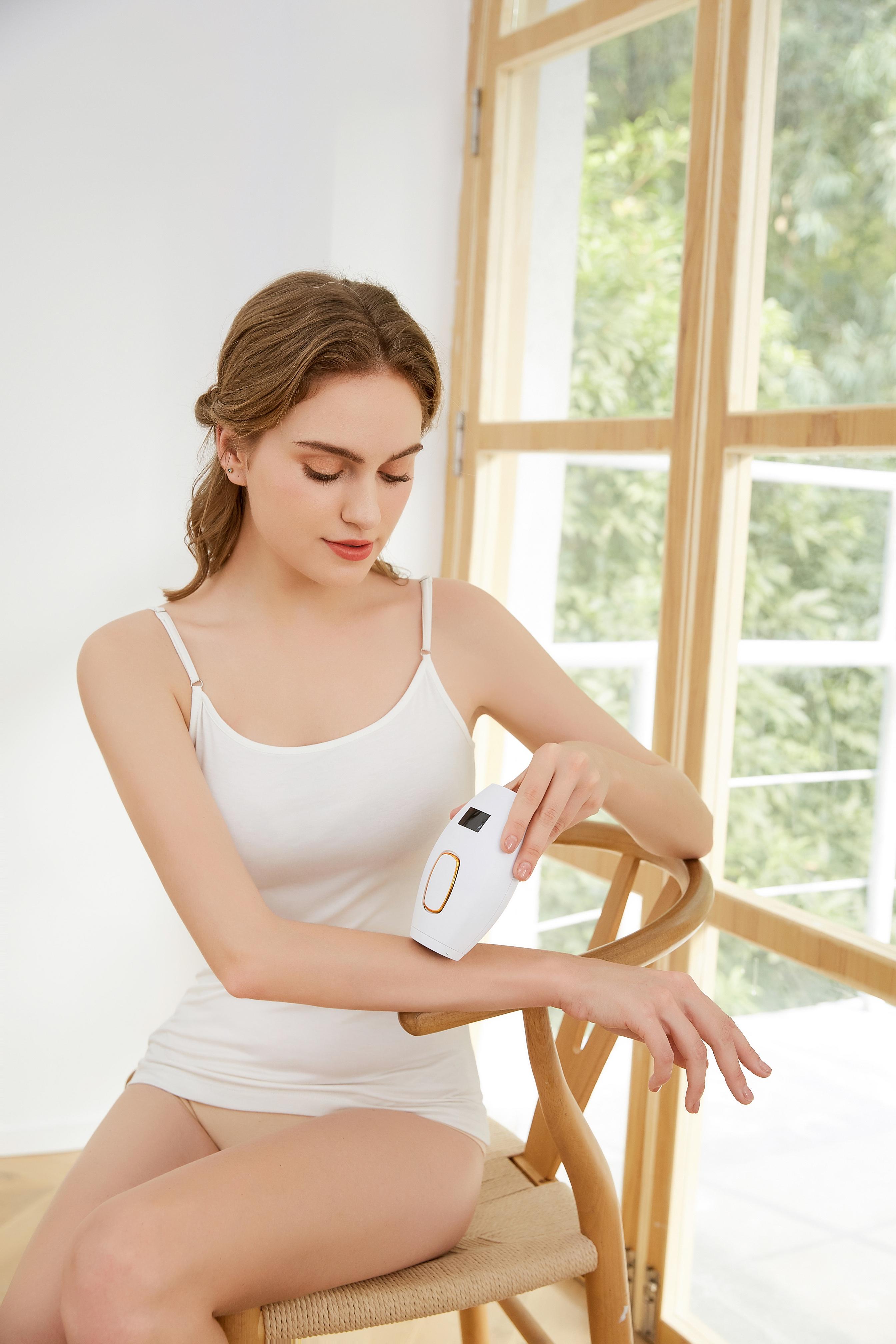 Лазерное удаление волос на весь тело, уход и омоложение кожи, устройство для удаления волос
