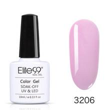 Elite99, 10 мл, гелевый УФ-лак телесного цвета, замачиваемый, прозрачный цветной Гелевый лак для ногтей, стойкий лак для ногтей(Китай)