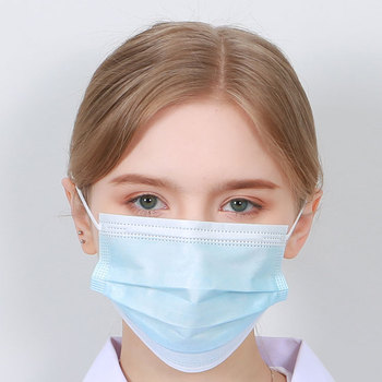 Professional Supplier 50Pcs Disposable Medical Face Masks Dust Mouth Surgical Mask