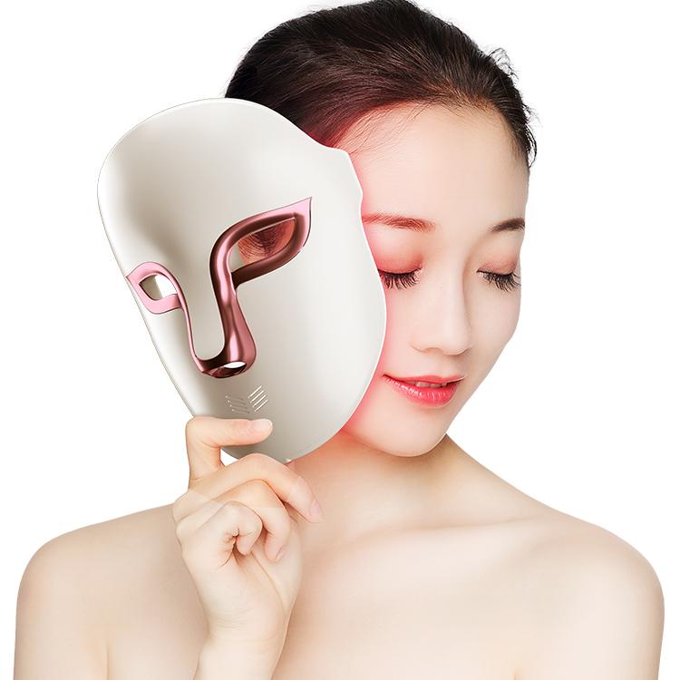 Антивозрастная маска для лица Photon, омоложение кожи, терапия, светодиодная маска для красоты лица