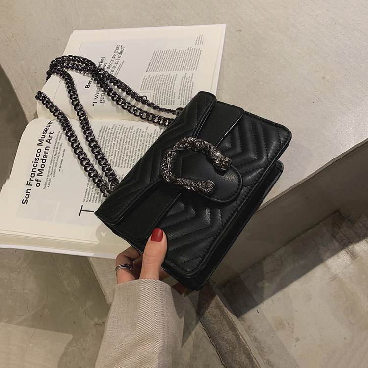 Wholesale 2021 Pu Leather Ladies Shoulder Bags Custom Women Fashion Designers Sling Bag Chain Messenger Bag Handbags