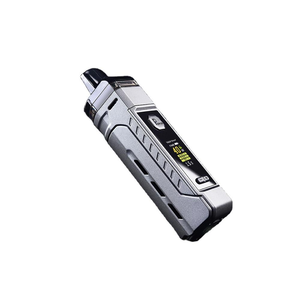 adjustable box mod electronic cigarette 4.8ml big capacity tank Vapor Storm V-PM 40W vape kit - MrVaper.net