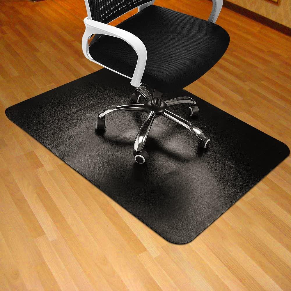 Heavy Duty Clear Black Pvc Chair Mat