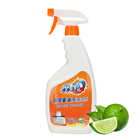 Green Cleaning Cleaner Spray High Quality Kitchen Cleaner Green Lemon Effect OEM Household Detergent Spray Cleaning