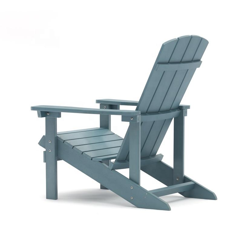 Высококачественный водонепроницаемый садовый стул для внутреннего дворика, пластиковые стулья Adirondack, складная мебель