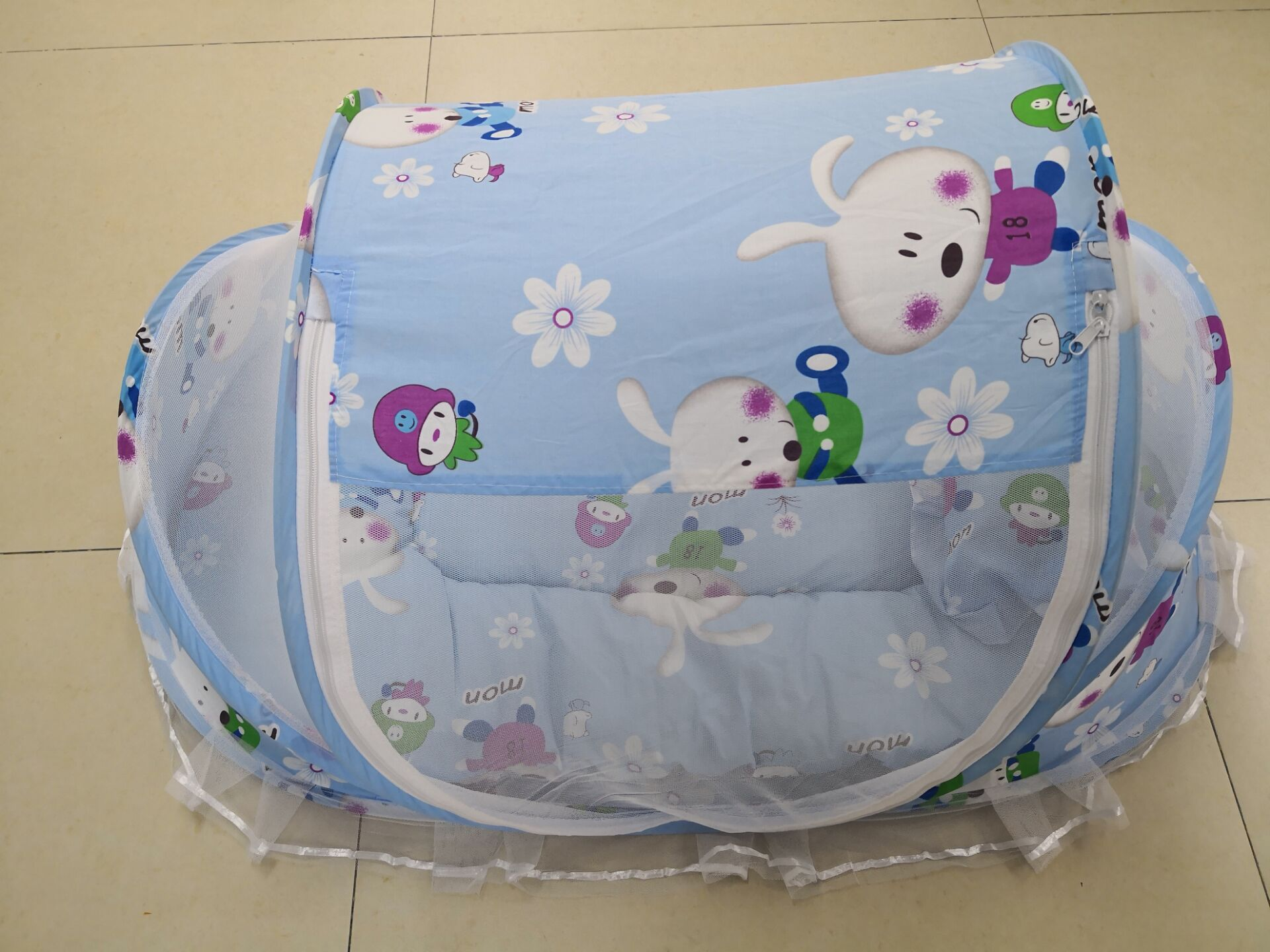 Москитная сетка для детей с подушкой для сна, Детские сетки с бесплатной установкой