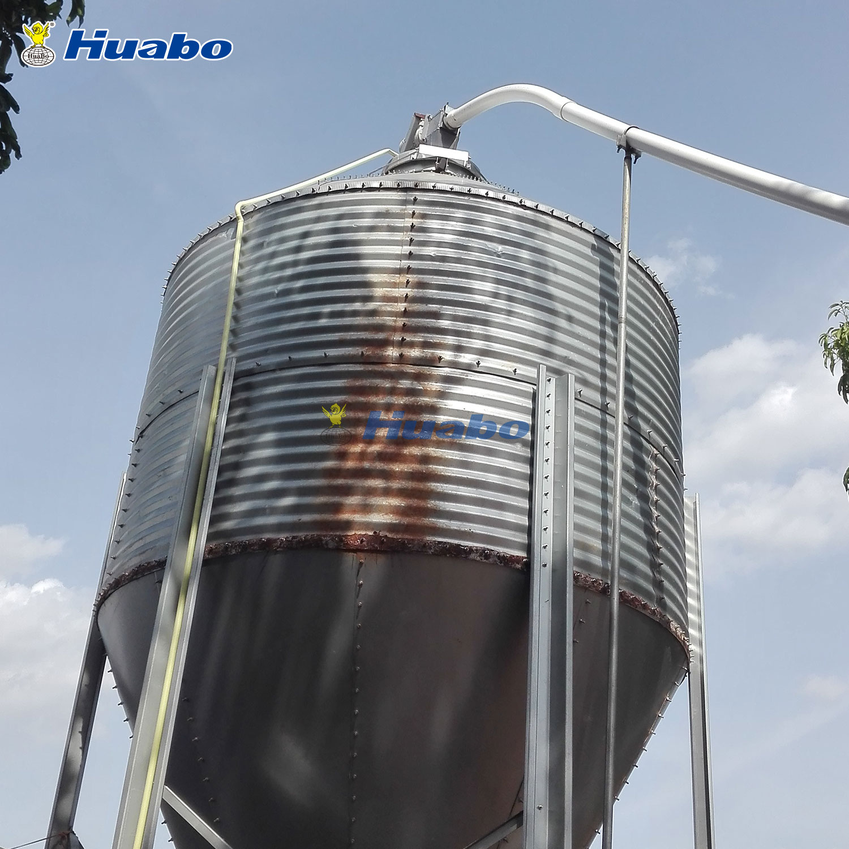 Feed Wheat Grain Storage mini Feed Silo for Sale