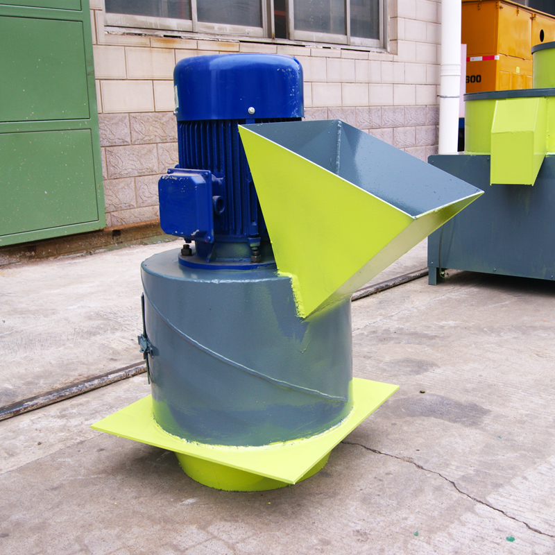 Processing Custom Animal Feed Grain Cow Dung Crusher Fertilizer Chain Agricultural Waste Crusher
