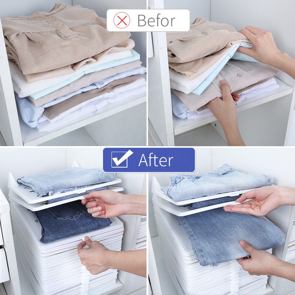 Haixin 10 packs Clothes collection board Cheap Clothes Folding Board,Plastic Clothes Folder,Cloth Folding Board