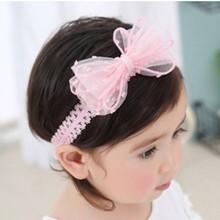 Корейская Детская повязка на голову для новорожденных; тканевая повязка на голову с цветами для девочек; аксессуары для ювелирных изделий «...(Китай)