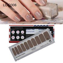 1 Упаковка накладные ногти различных типов винно-красного цвета чистая полоска волнистые точки дизайн телесного цвета полные ногти розовые...(Китай)