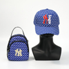 BLUE purse and hat