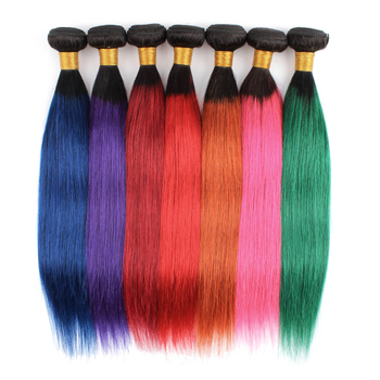 Wholesale 8A Virgin Cuticle Aligned Brazilian Human Hair, Red Straight Hair Weave And Other Color