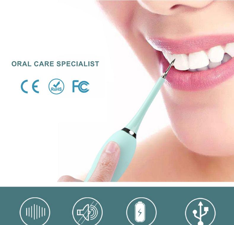 4 в 1 электрическая зубная щетка зубной камень жидкость для снятия Sonic зубная щётка для зубного камня светодиодный набор для чистки зубов с зеркалом