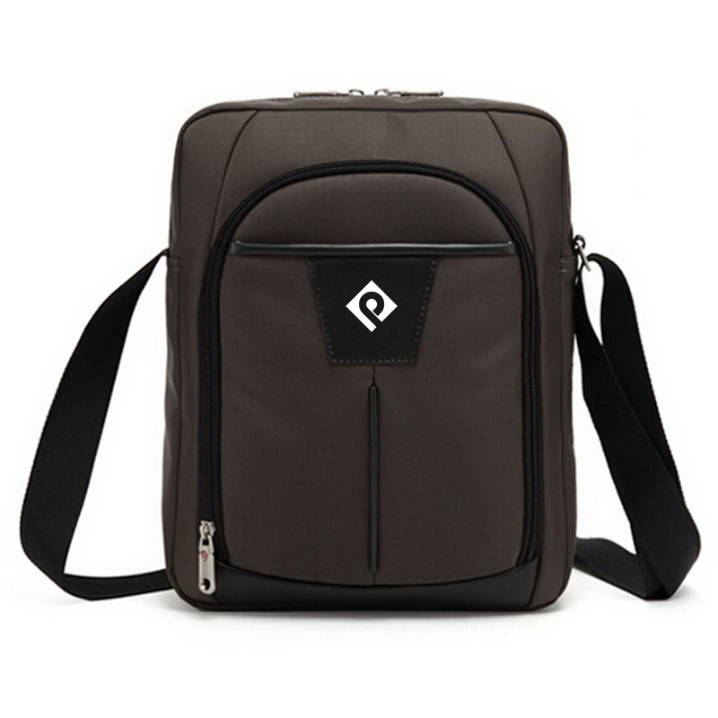 Cross shoulder bag Multifunctional  cross shoulder  Satchel Rpet Fabric men messenger bag with Internal key pocket
