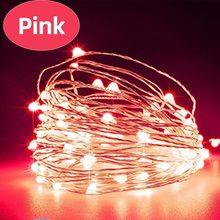 Светодиодный светильник Aimkeeg с медной проволокой, Сказочная лампа для бутылки вина, украшение для рождественской и свадебной вечеринки, 1 м ...(Китай)