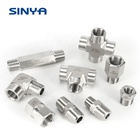 Stainless Steel 4 Fittings Stainless Steel 316/316L 1/2NPT 3/4 NPT 1/4 NPT 6000 PSI High Pressure Instrumentation Pipe Fittings Hex Reducing Bushing