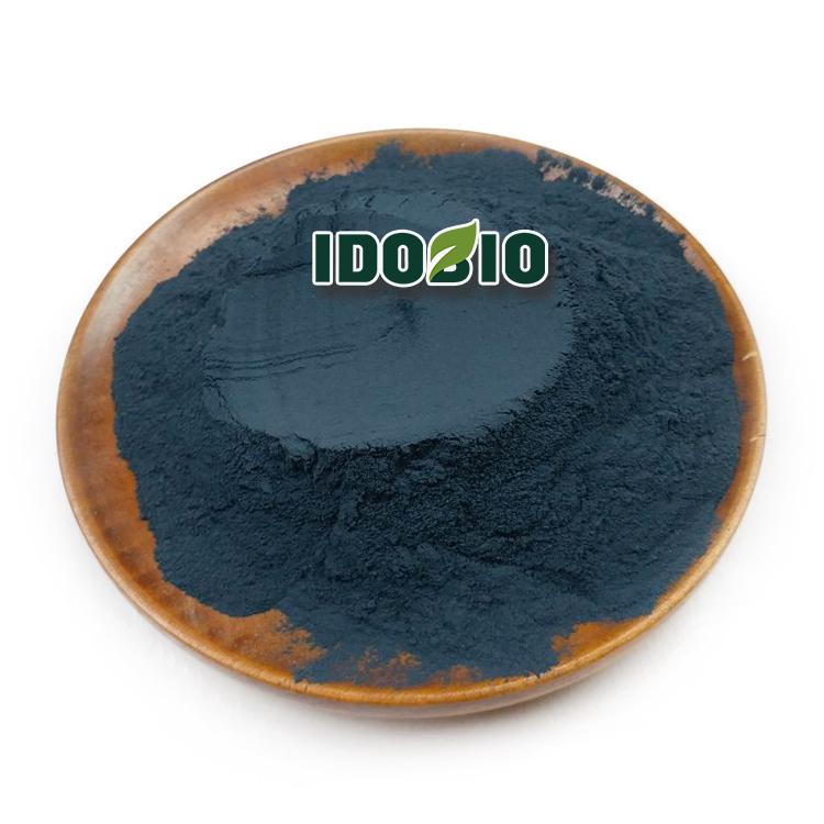 Natural indigo from Polygonum