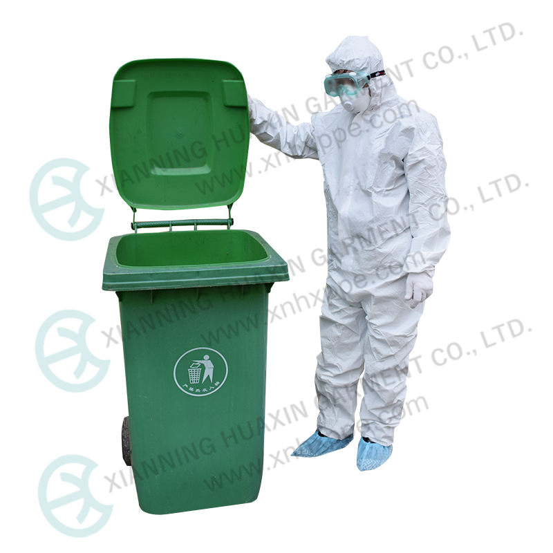 Certificated Full Cover Disposable Protection Coverall - KingCare | KingCare.net