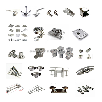 marine products Stainless steel 316 parts boat accessories China equipment marine hardware
