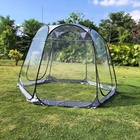 Family Outdoor Camping Tent Outdoor Family Camping Gazebo Dome Screen House Clear Dome Plastic Pop Up Transparent Bubble Tent