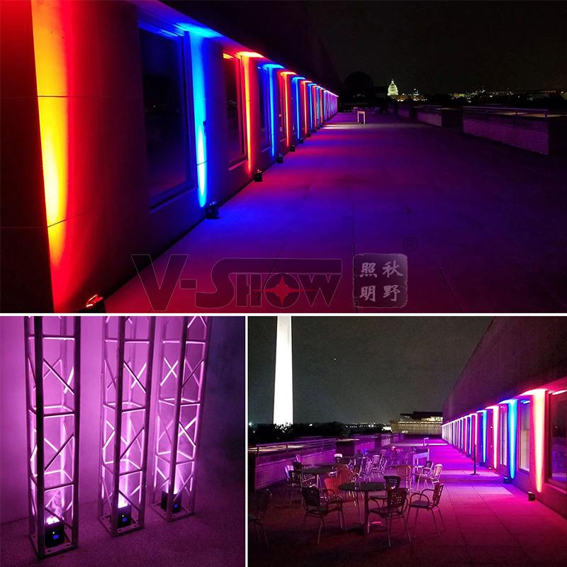 Свадьба Uplight 6x18 Вт RGBWA + UV 6 в 1 светодиодный светильник par беспроводной аккумулятор и дистанционное управление par light