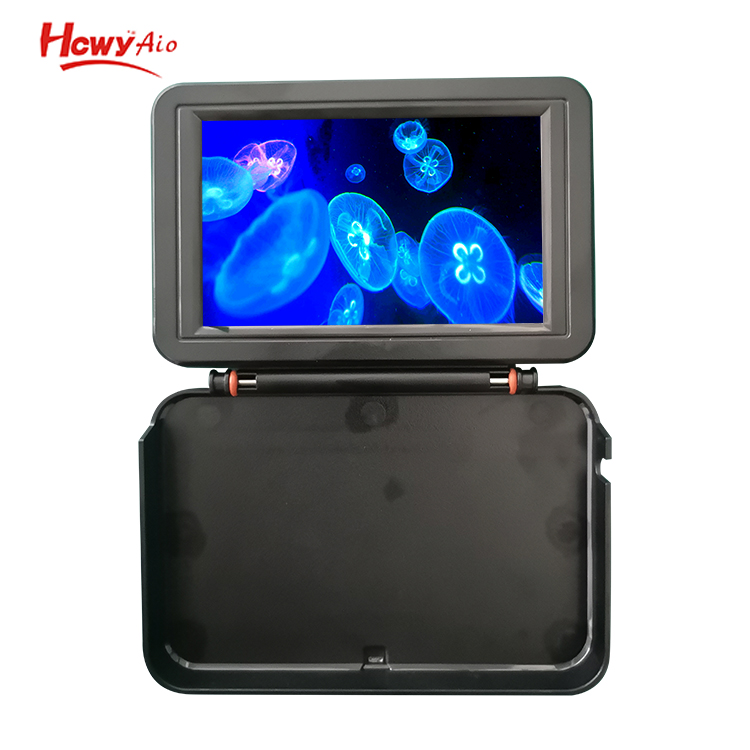 Visuable 5 inch Battery 1000 Nits Sea Ice Fishing Products Finder Underwater Display AHD Monitor