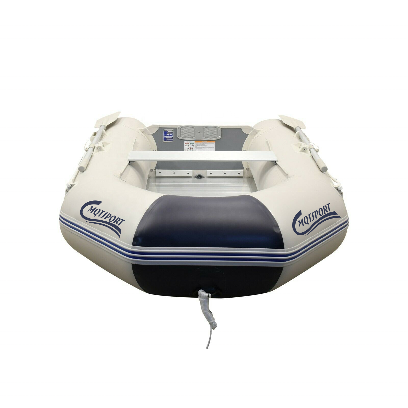 2 Person 7.5FT Inflatable Dinghy Boat Fishing Tender Rafting Water Sports