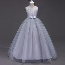 2020 платье «Корейская принцесса» Детское платье-майка с цветочным рисунком платье для девочек детское свадебное платье с цветочным узором д...(Китай)