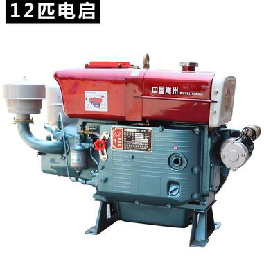 ZS1115 16.17kw 22hp 2200rpm Single Cylinder Water-Cooled Electric Start Diesel Engine