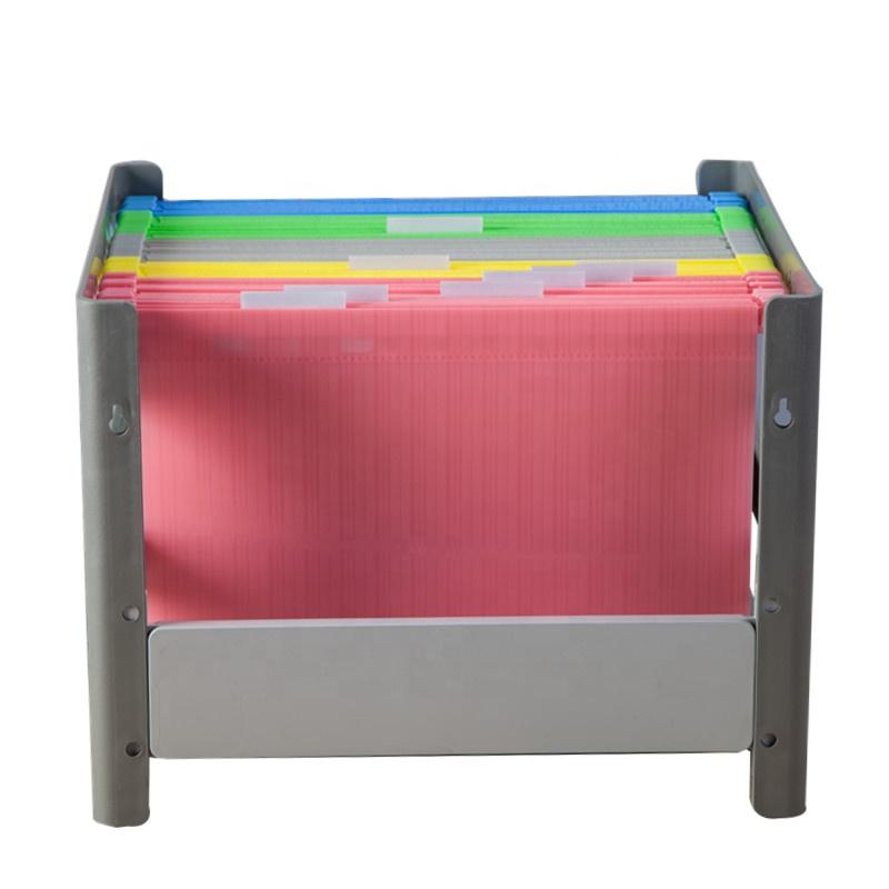 A4 Folder Organizer Custom Folders Box Plastic Colored hanging expanding file folder