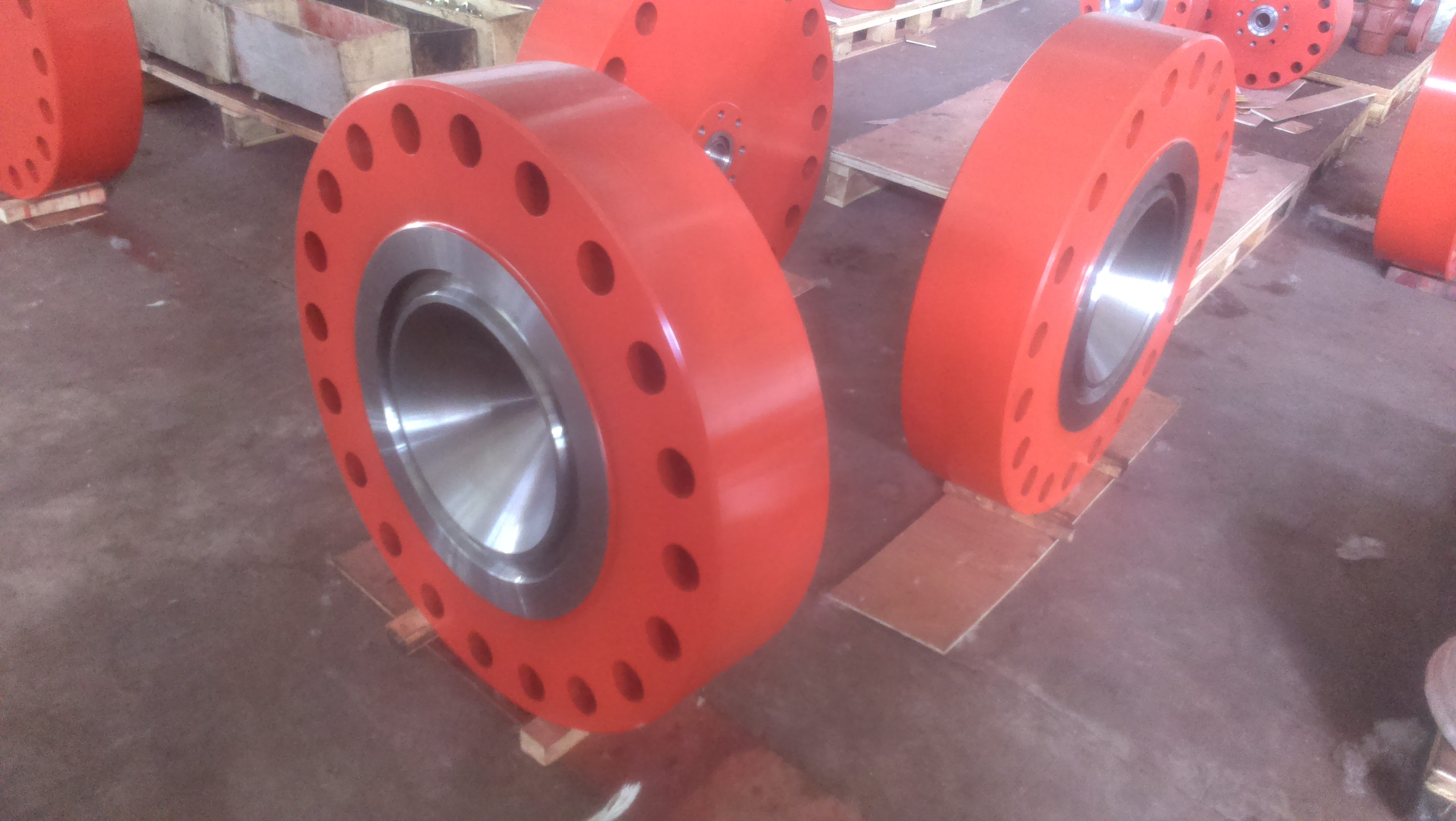 API wellhead equipment casing head spool assembly and parts