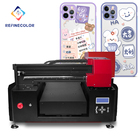 Inkjet Flatbed Printer A3 Inkjet Factory Price UV Flatbed Printer For Pen Golf Ball Pvc Card Printing Shop Machines 3d Uv Printer