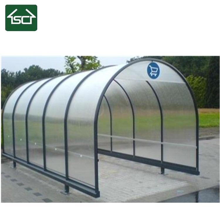 Metal Shopping Trolley Shelter Supplier