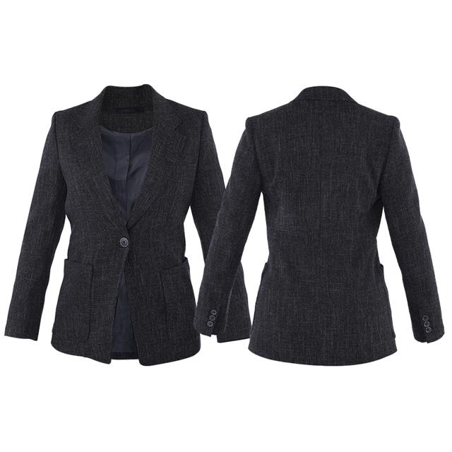 Huiquan эстетический индивидуальный дизайн повседневный костюм куртка для женщин однобортная куртка